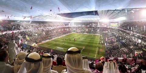 Stadium, Sport venue, Crowd, Soccer-specific stadium, Arena, Product, Fan, Audience, Team sport, Atmosphere,