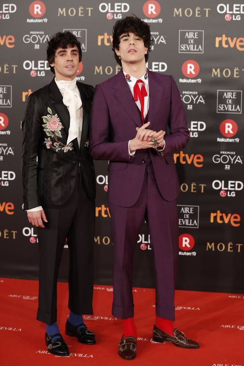 los javis premios goya alfombra roja 2018