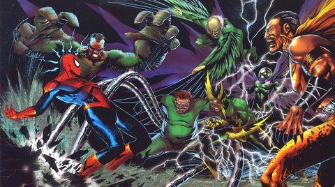 Spider-Man 3 posibles villanos