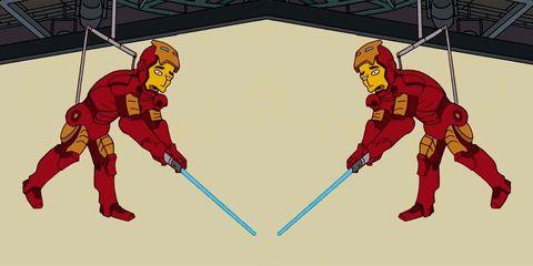 Los Simpson homenaje Vengadores Endgame