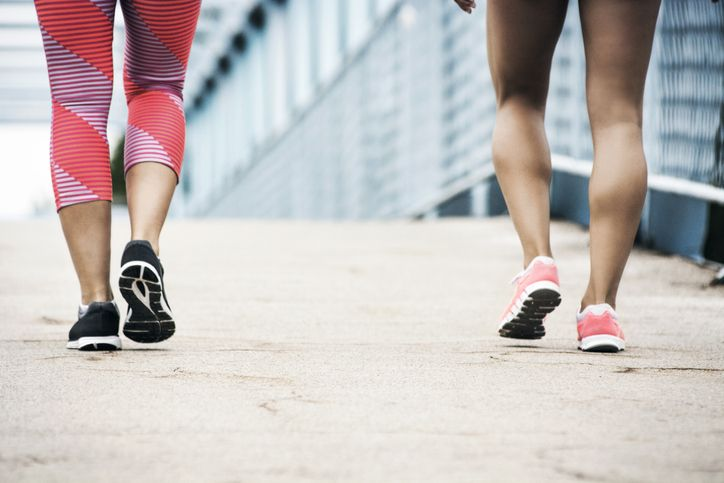 Here's How to Get Moving and Lose Weight Walking 30 Mins a Day
