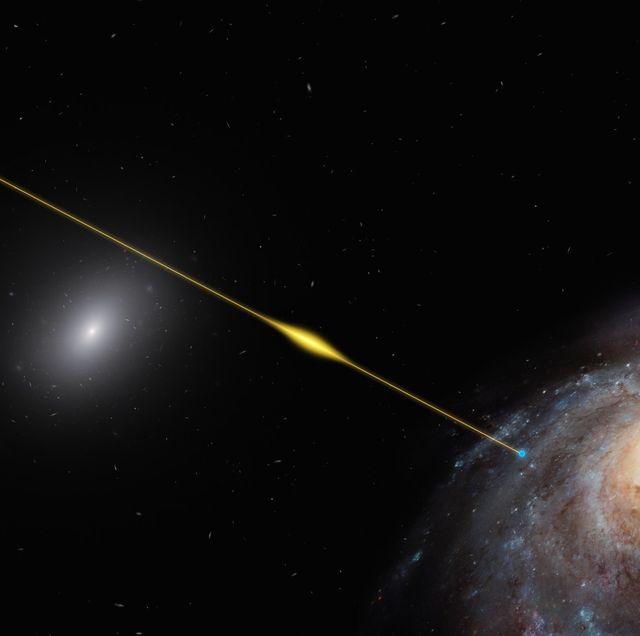 fast radio burst reaches earth