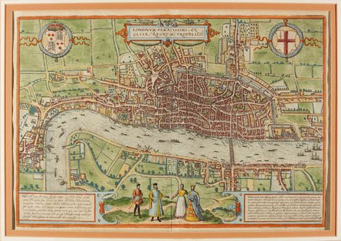 The first printed map of the world will be auctioned for up to lot 206 map of london sothebys gumiabroncs Gallery
