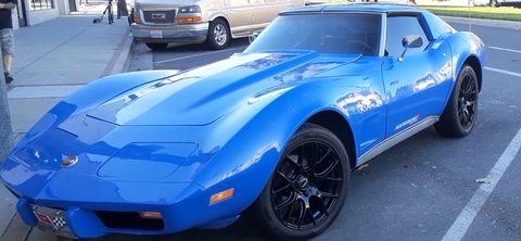 1975 corvette ttop custom coupe