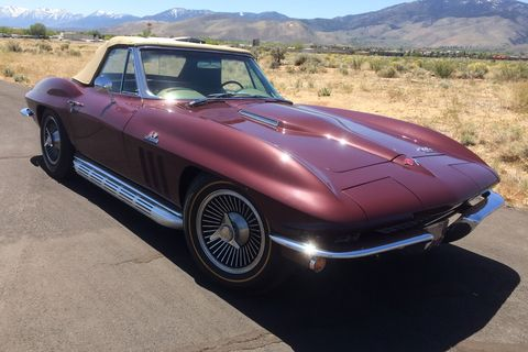 1966 327340 corvette convertible