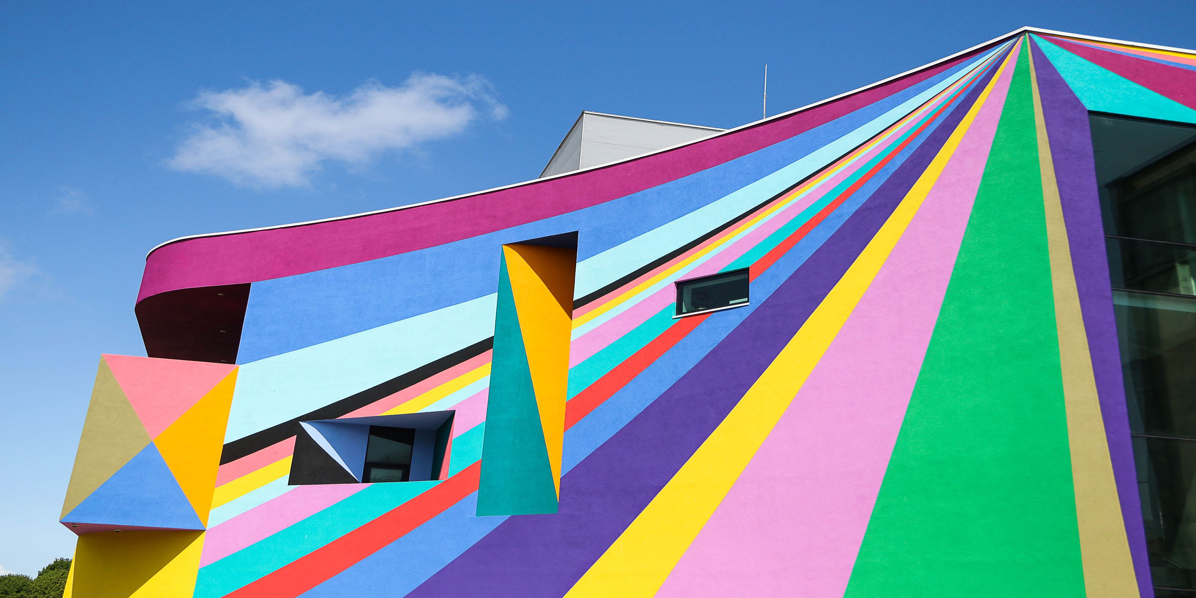 Towner Art Gallery has been transformed into a radiant artwork