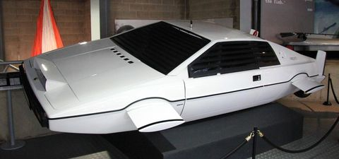 Lotus Esprit Bond Car Tesla Cybertruck Spy Who Loved Me Car