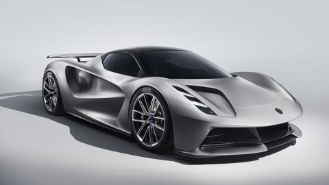 Lotus Evija Aims to Be the World's Most Powerful Electric Car