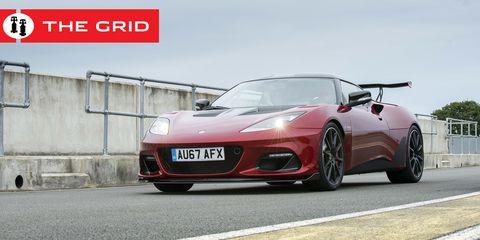 Land vehicle, Vehicle, Car, Sports car, Supercar, Automotive design, Lotus evora, Performance car, Bumper, Wheel,