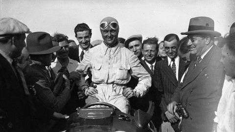 Luis Chiron, Formula 1's oldest starter