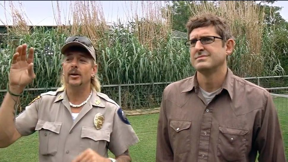 Louis Theroux is doing another show with Tiger King's Joe Exotic