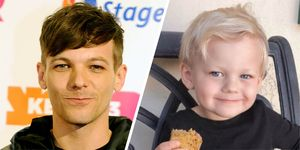 Louis Tomlinson's son is 3 years old now and looks so much like him