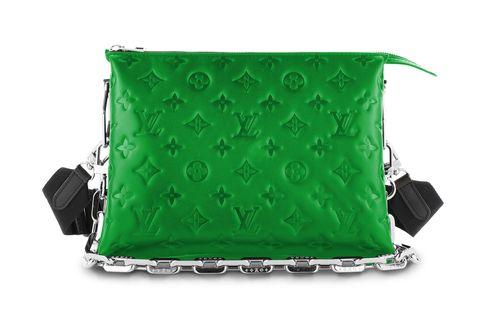louis vuitton borsa verde smeraldo primavera estate 2021
