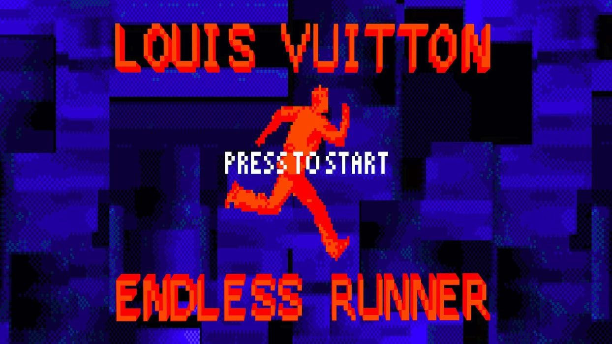 Louis Vuitton Just Released A 'Stranger Things'-Esque Video Game