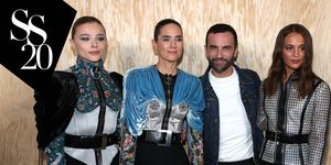 Louis Vuitton front row
