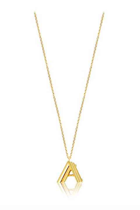 Initial necklace, Louis Vuitton jewellery