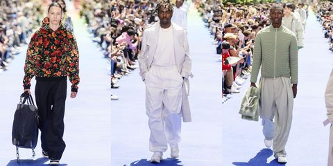 de9a2626fc8 All the Looks From the Louis Vuitton Spring 2019 Menswear Collection