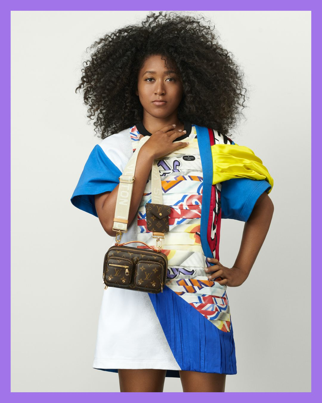 Naomi Osaka Is Louis Vuitton's 2021 Fashion Ambassador