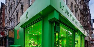 Louis Vuitton pop-up store New York