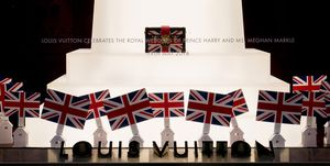 Louis Vuitton royal wedding bags