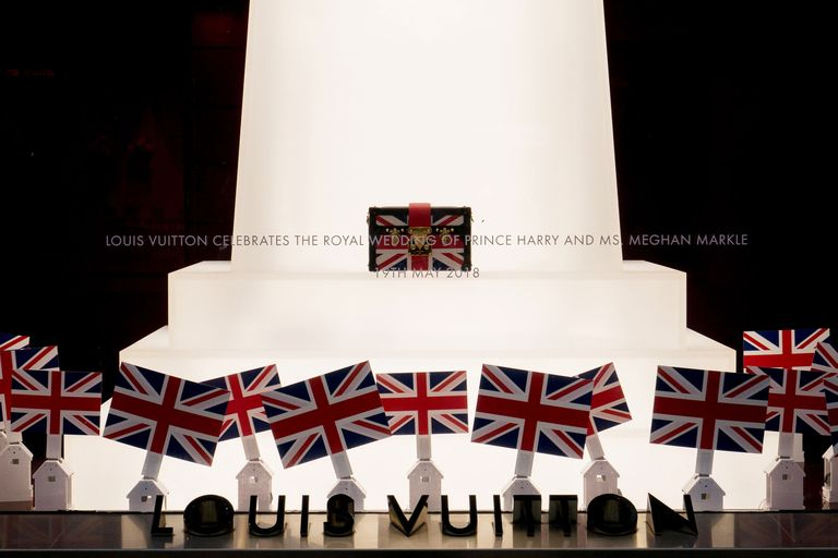 Louis Vuitton Celebrates Royal Wedding With A Patriotic