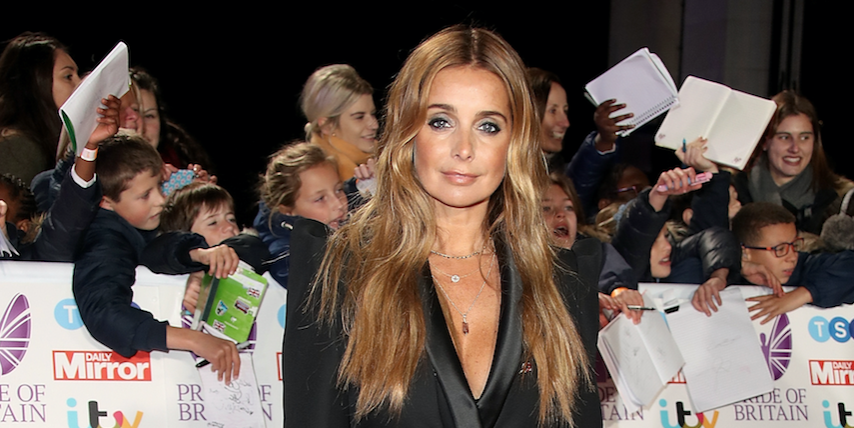 Louise Redknapp attends the Pride of Britain Awards 2018 at The Grosvenor House Hotel