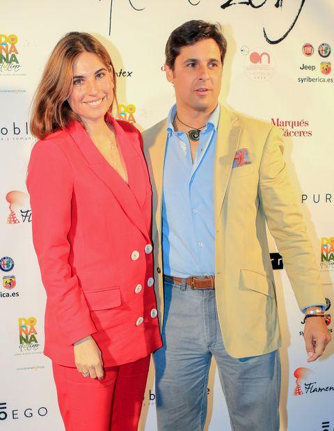 Yellow, Red, Suit, Fashion, Outerwear, Pantsuit, Fashion design, Event, Formal wear, Blazer,