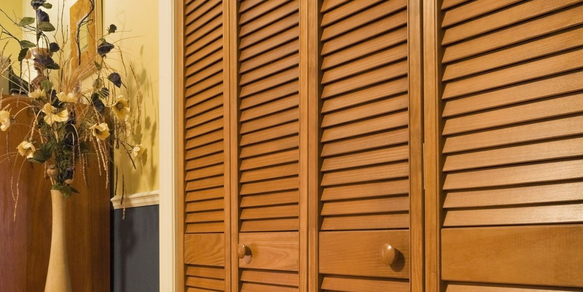 Got Ugly Closet Doors Check Out This Designer S Genius Diy Fix