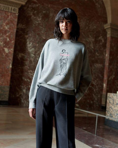 Resultado de imagen para El Louvre colabora con Uniqlo en el lanzamiento de su nueva tienda en línea