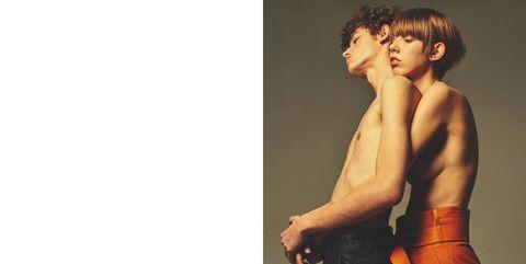 Human, Shoulder, Joint, Standing, Elbow, Barechested, Wrist, Interaction, Muscle, Waist,