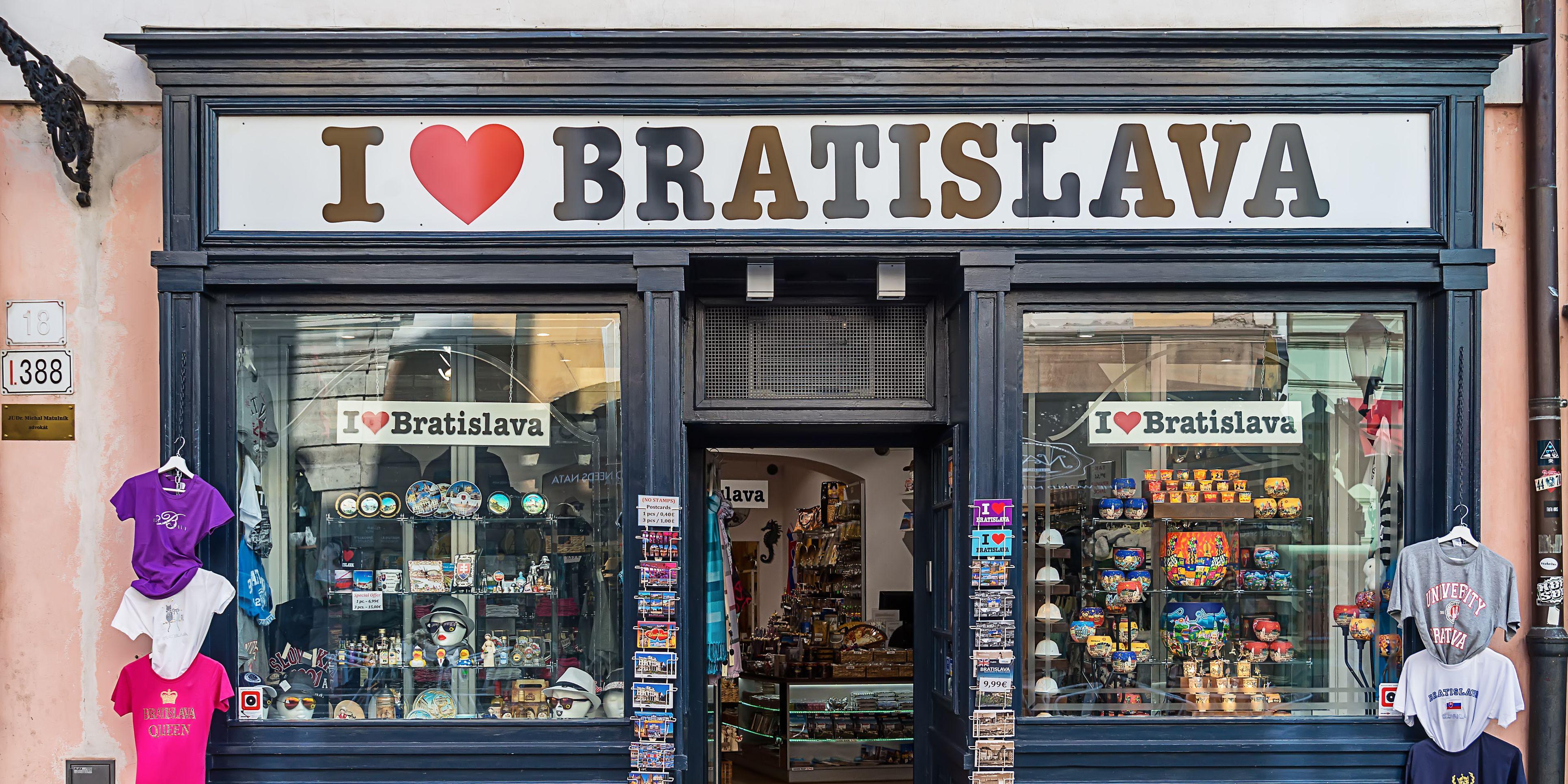 I love Bratislava.