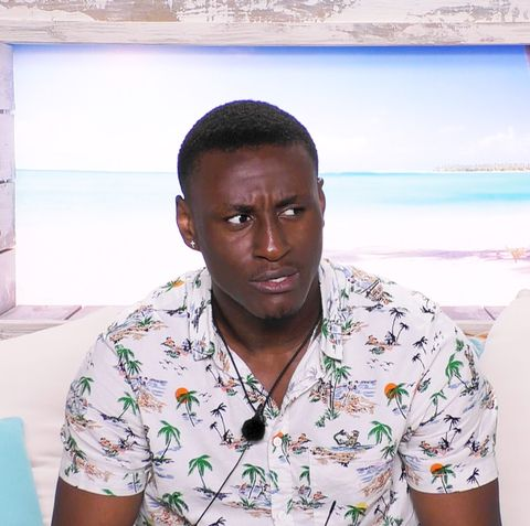 Love Island's Sherif Lanre denies contestants get a day off from filming