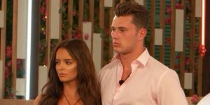 Love Island 2019 Day 48 – Maura and Curtis during dumping ceremony
