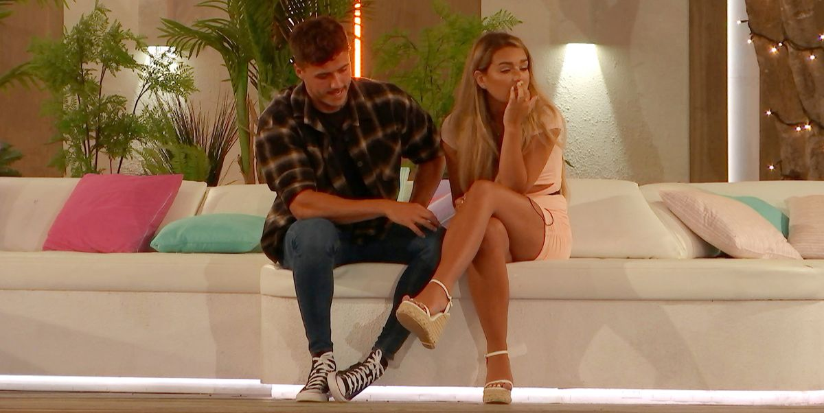 Love Island's Lucinda responds to cosy images of her and Brad