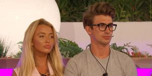 Love Island Day 42 – Harley Brash and Chris Taylor at the dumping