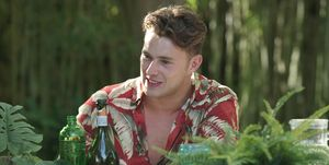 Curtis, Love Island, day 46