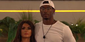 Love Island Day 48 – India and Ovie during dumping ceremony