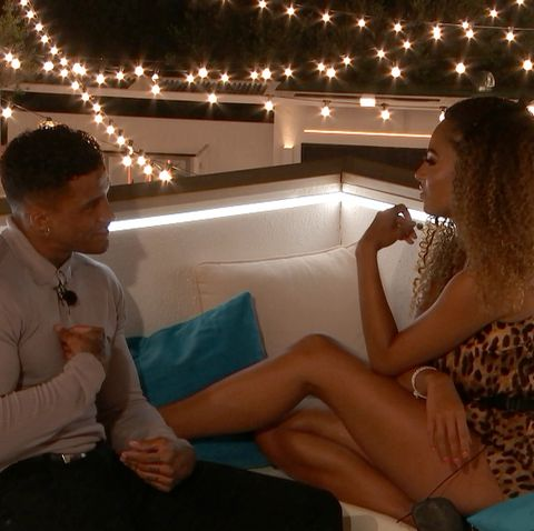 Love Island viewers are confused over Amber Gill's reason for not kissing Michael Griffiths