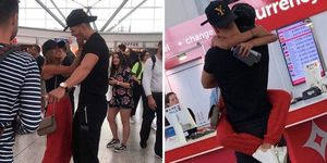 Love Island 2018's Jack Fowler greeted Joanna Chimonides at the airport, and what?