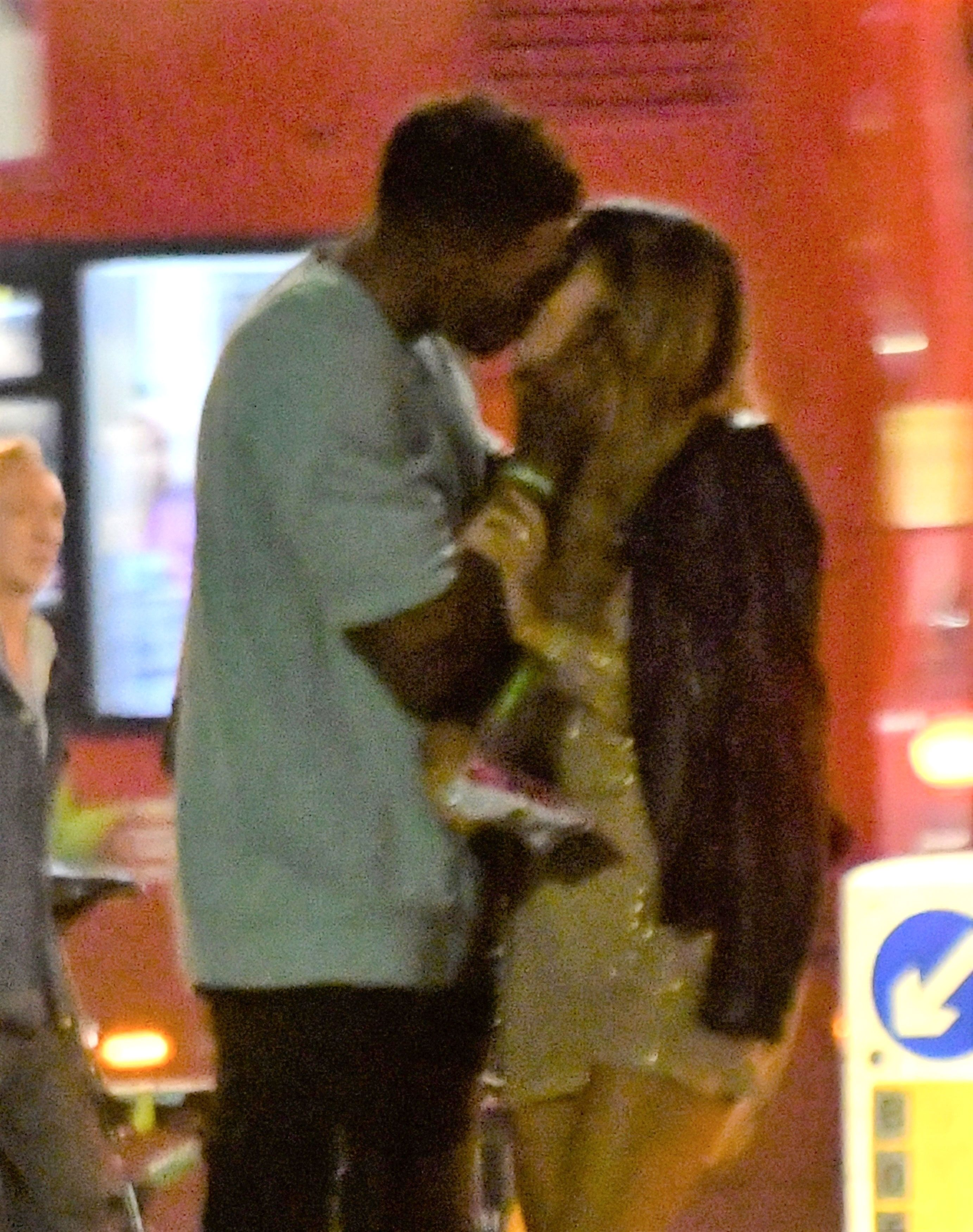 Love Island's Joanna and Michael spotted 'kissing'