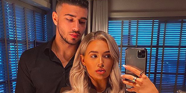 Love Island's Molly-Mae Hague and Tommy Fury celebrate one year anniversary