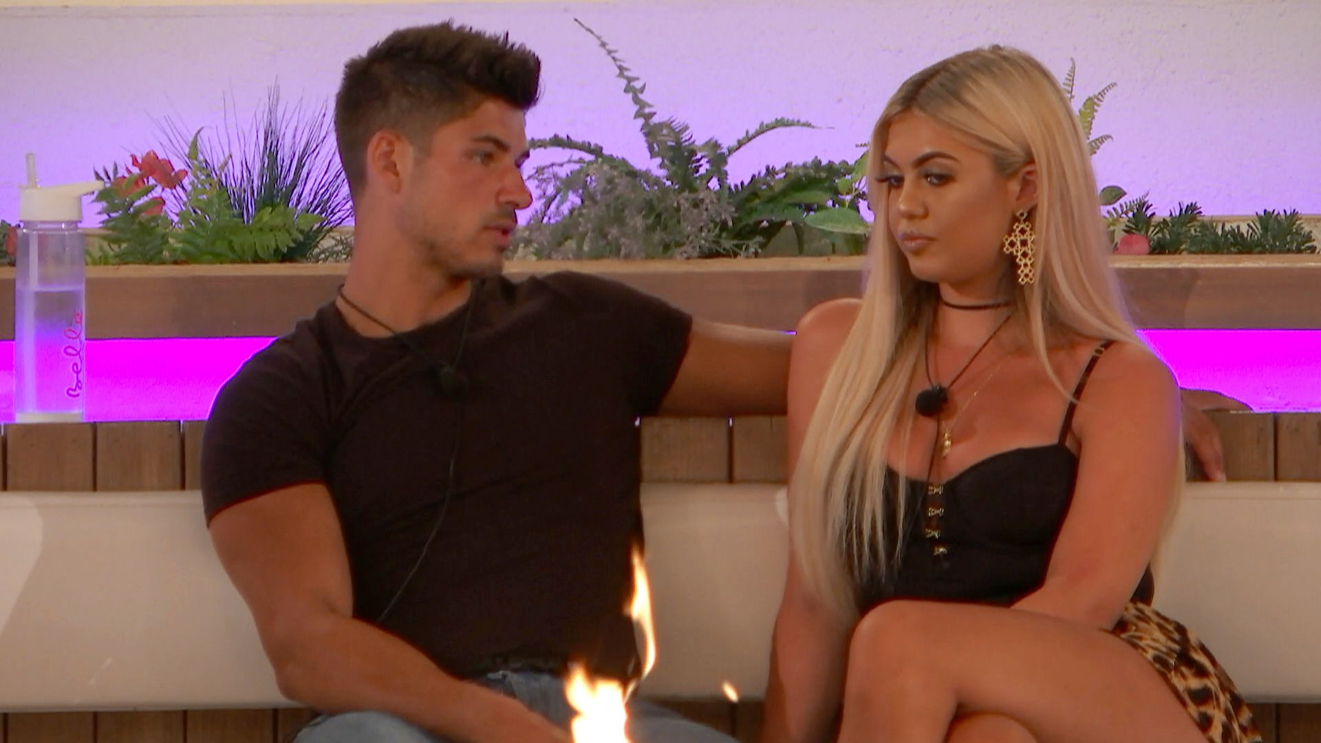 """Love Island's Anton Danyluk and Belle Hassan haven't """"done bits"""" yet"""