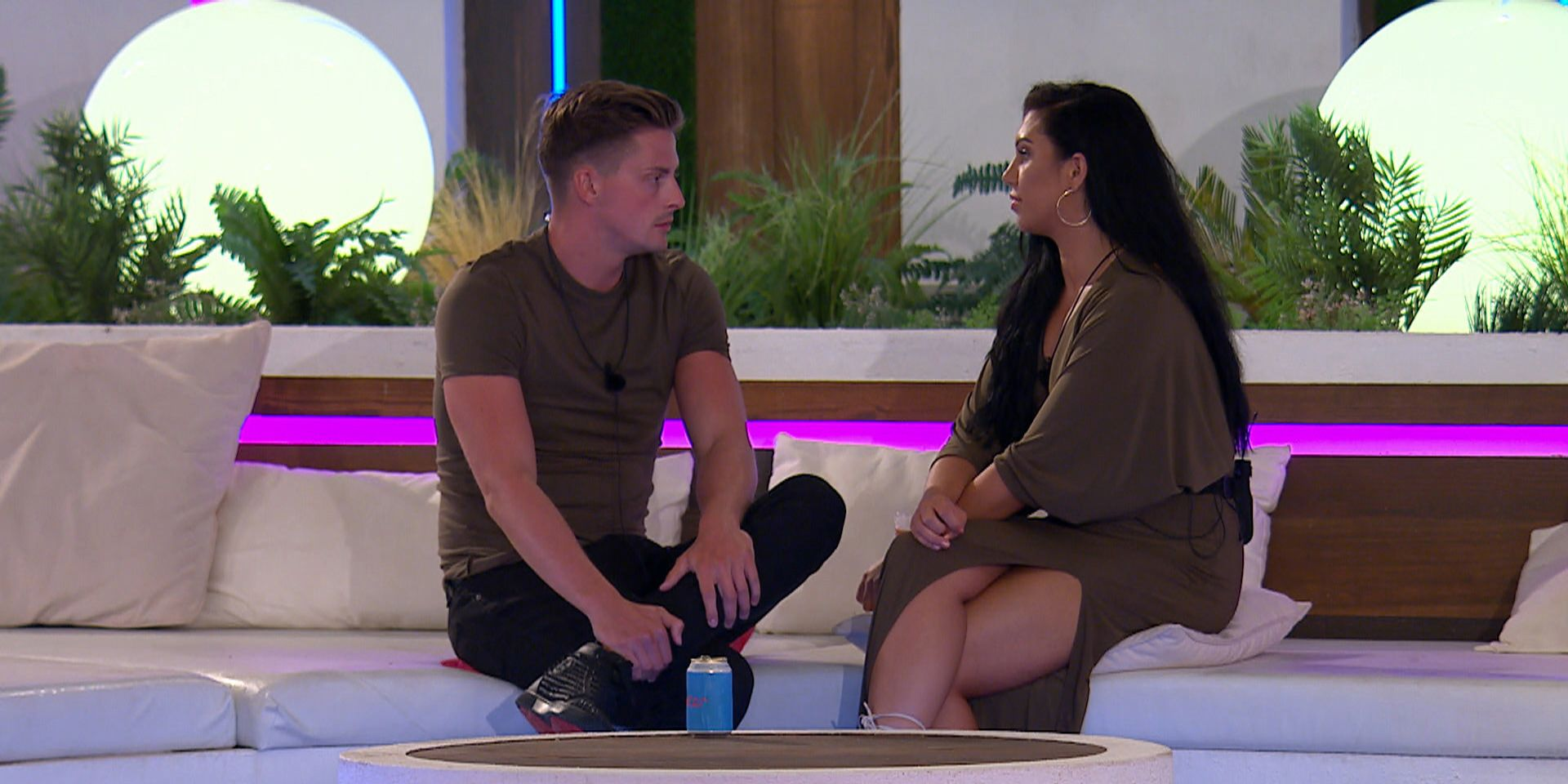©ITV PlcThe Love Island Dr Alex moment that received complaints to Ofcom