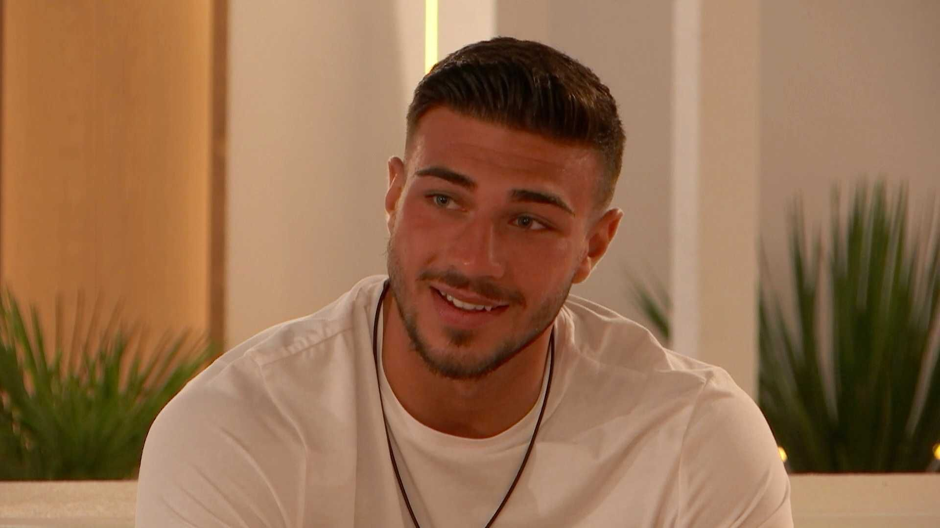 Did you see Tommy from Love Island's face when Maura was sent on a date with the new boys?