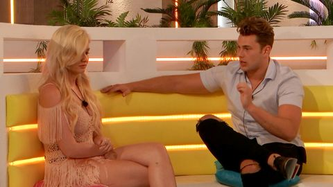 Love Island responds to fans' calls for extra support for Amy following Curtis recoupling