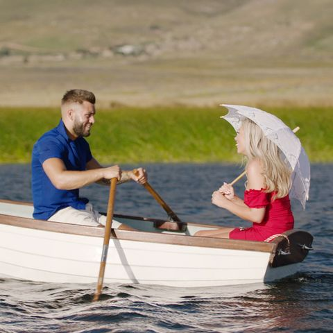 Finn and Paige go on a date on Love Island
