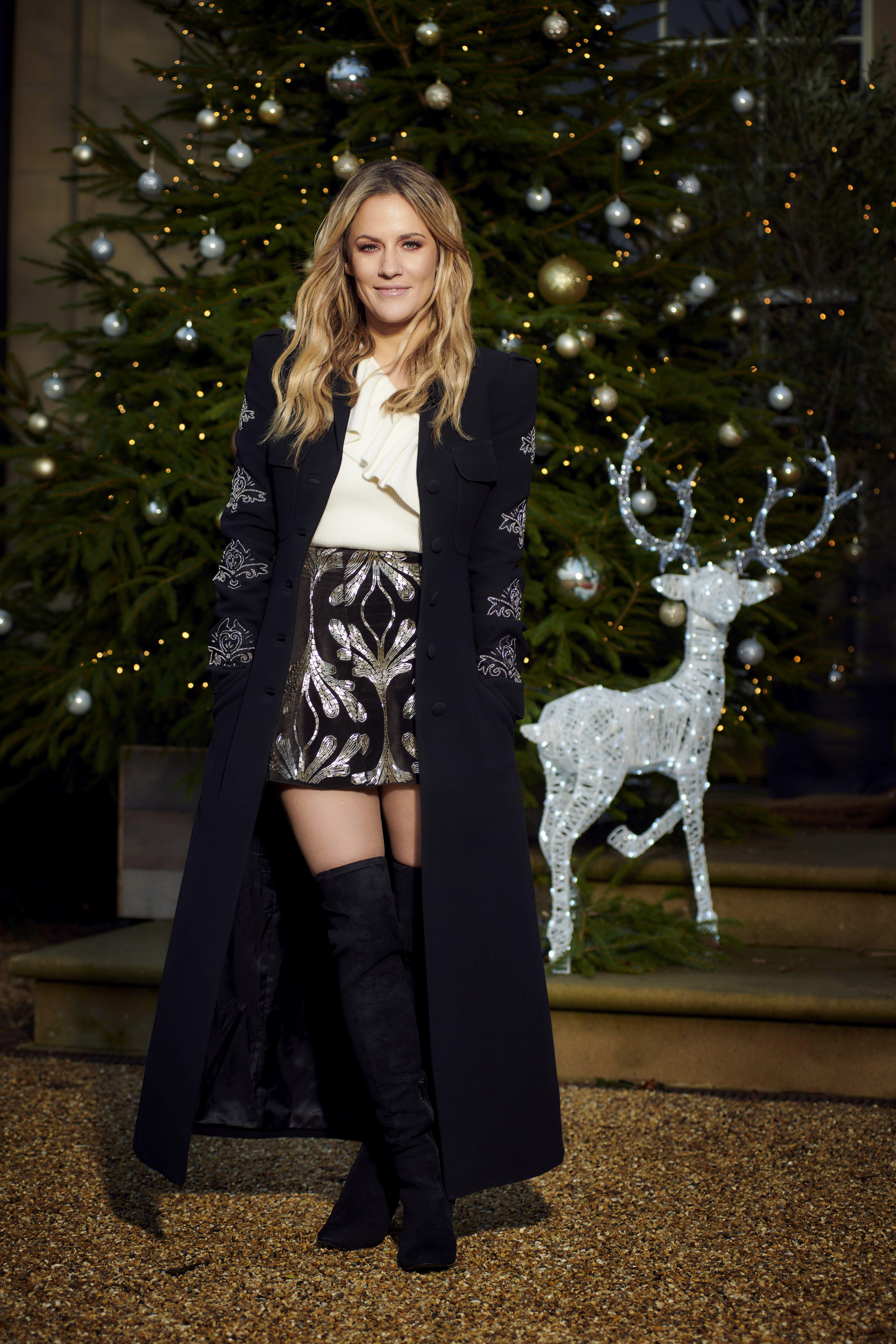 Love Island Christmas special: Caroline Flack (Embargoed 10:30pm Monday 10th December)