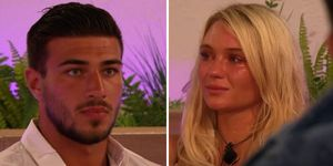 Love Island's Lucie Donlan and Tommy Fury had a strange interaction during the recoupling
