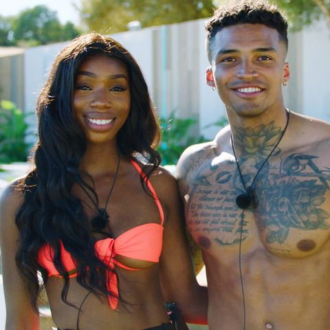Love Island couple Yewande Biala and Michael Griffiths