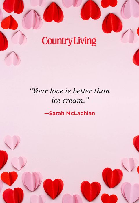 your love is better than ice cream